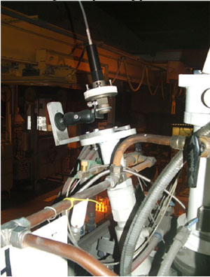 Photo of investment casting lens installation